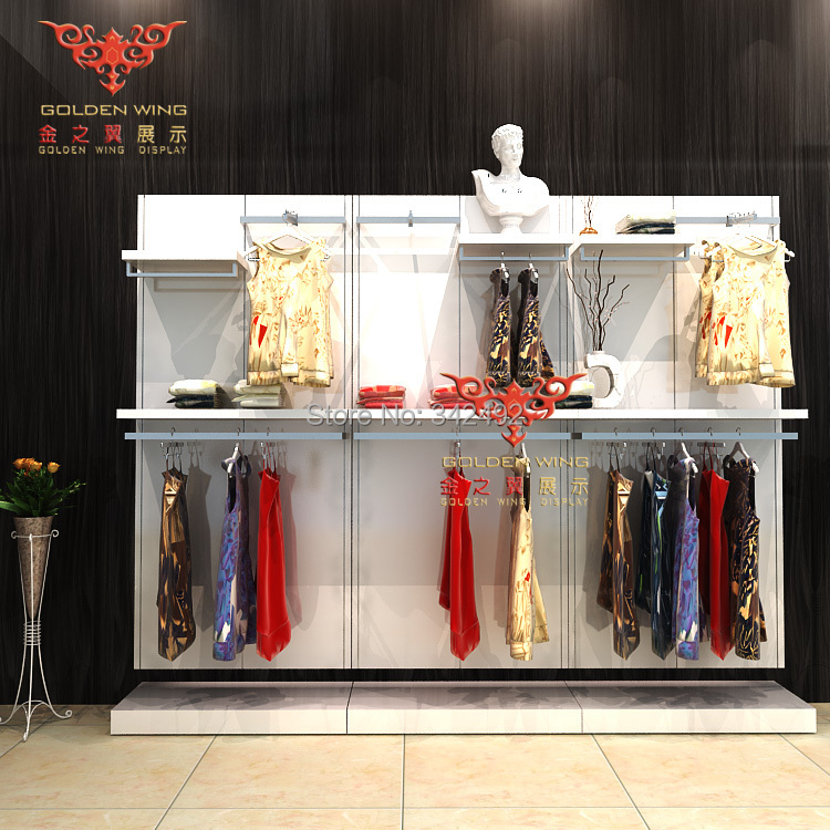 Muebles para tienda de ropa estante de exhibici n del for Muebles para ropa