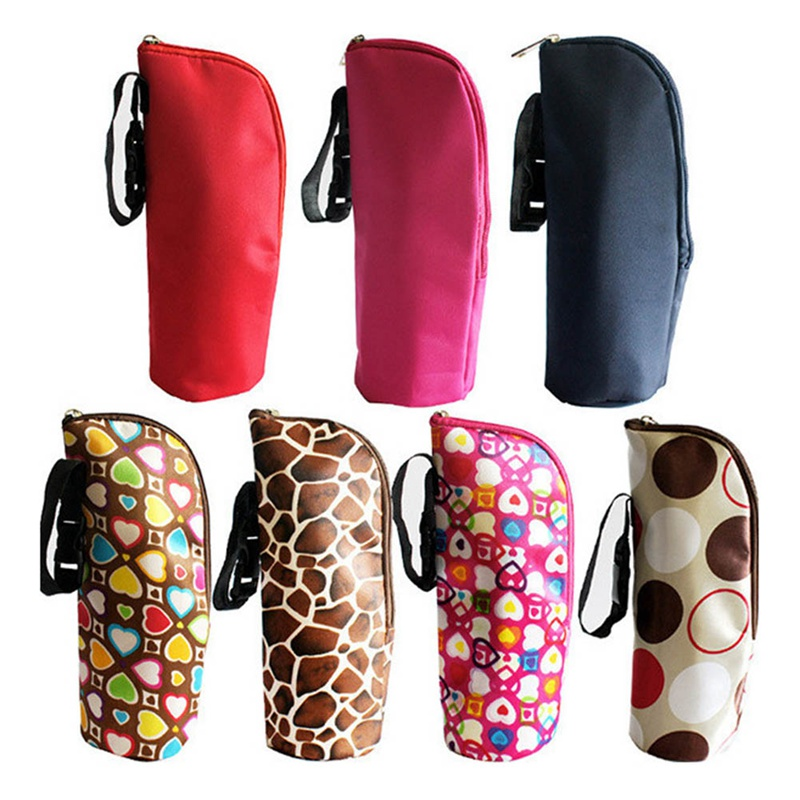 Baby Bottle Case Feeder Lagging Bag For Newborn Baby Stylish Keep Warm Infant Feeding Bottle Bag Case Multicolor