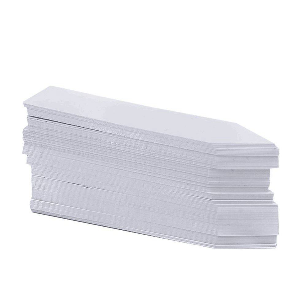 Hot Sell 1000 Pcs 4 Inch Plant Tags Garden Nursery Labels Plastic Pot Labels White Trees Signs Prompt Card Classification Tool