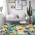 100 см * 160 см 3D тропический Лист Печать прихожей ковер для спальни гостиной чайный столик коврик для кухни ванной Противоскользящий коврик дл...