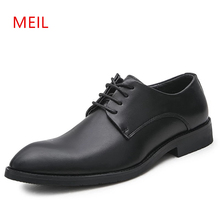 Luxury Brand Classic Man Pointed Toe Dress Shoes Mens Black Wedding Shoes leather Oxford for men Formal Shoes Zapato Elegante oxford wedding men shoes luxury brand leather shoes men zapatos hombre herenschoenen pointed toe formal mens dress shoes man