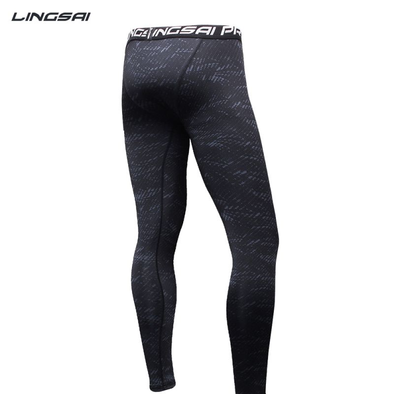 Men's Compression Tight Long Yoga Pants Sports Trousers Jogging Long Stretchy Joggers Slim Fit Mallas Hombre Running
