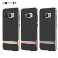 Original ROCK Royce Case For Samsung Galaxy S8 Luxury PC TPU Hybrid Cases Cover For Samsung