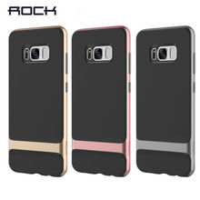 Original ROCK Royce Case For Samsung Galaxy S8 Luxury PC+TPU Hybrid Cases Cover Plus Fundas