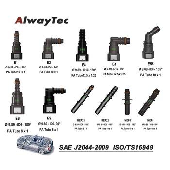 Przewód paliwowy Fttings przewód paliwa samochodowego szybkozłącze węża żeńskiego i męskiego tanie i dobre opinie AlwayTec Zbiorniki paliwa Fuel quickconnector Fuel Hose Connector Iso9001 PA12 PA 6*8-5 16 PA 8*10-3 8 PA 10*12-7 16