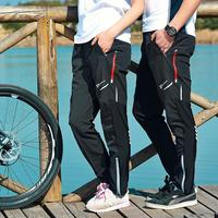 RockBros Outdoor Sports Cycling Casual Pants Men Women Bicycle Bike Tights Trousers Breathable Reflective Sportswear Clothing