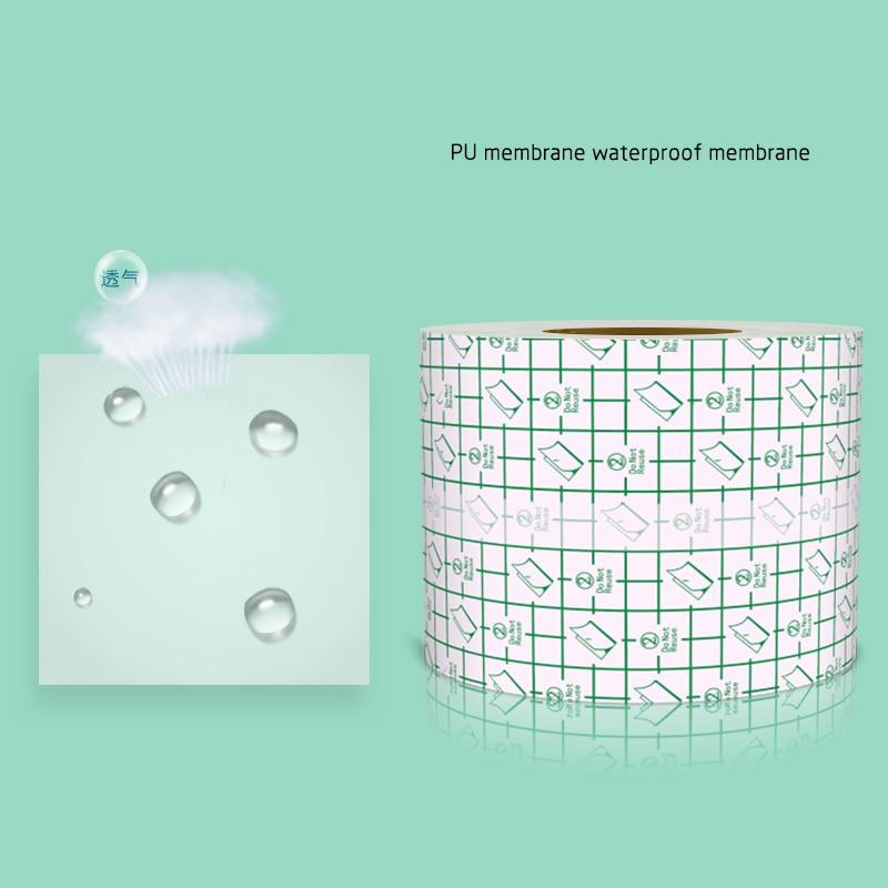 10m*5cm Medical Transparent Tape PU Film Adhesive Plaster Waterproof Anti-allergic Medicinal Wound Dressing Fixation Tape
