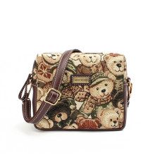 Princess Sweet Lolita Clutch Bag Mochlia Cute Lovely Bear Bag British Style Waterproof Cavans  Fresh Style Free Shipping!
