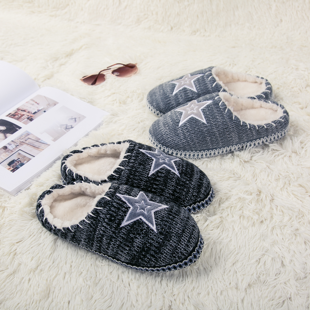 c386e9261b430 JACKSHIBO Winter Womens Plush Fleece Lined Slippers Memory Foam Clog Slip  on Female Slippers Comfortable House Indoor Slippers-in Slippers from Shoes  on ...