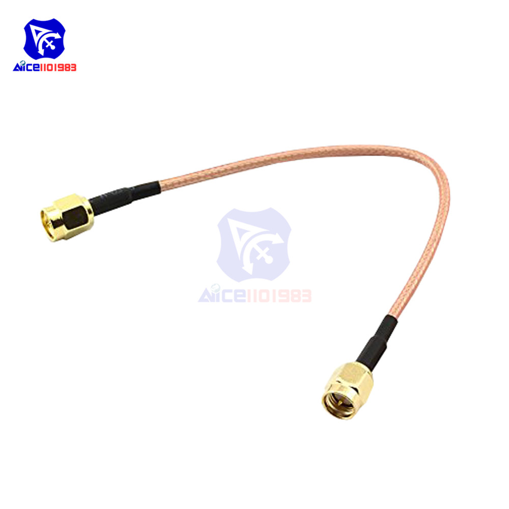 5pcs 10ft SMA Female to SMA Male Cable WiFi Antenna Extension Coaxial RG174 3M