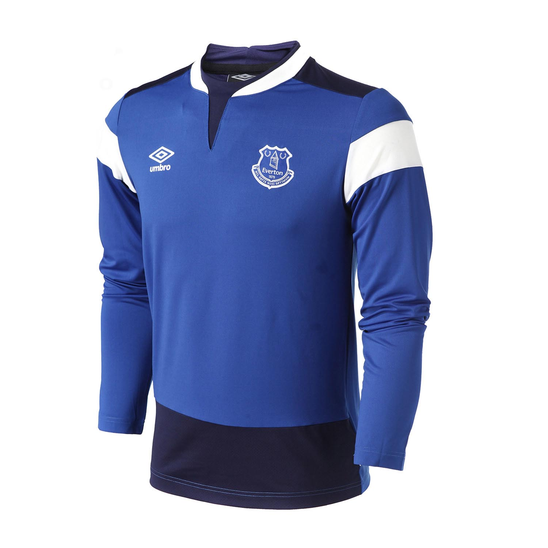 6b4ef49e957 Umbro Men Everton Long Sleeved shirt Running Shirt Men Soccer Jerseys T shirts  Tops Slim Fit Shirt Quick Dry Sportswear Ucb63019-in Running T-Shirts from  ...