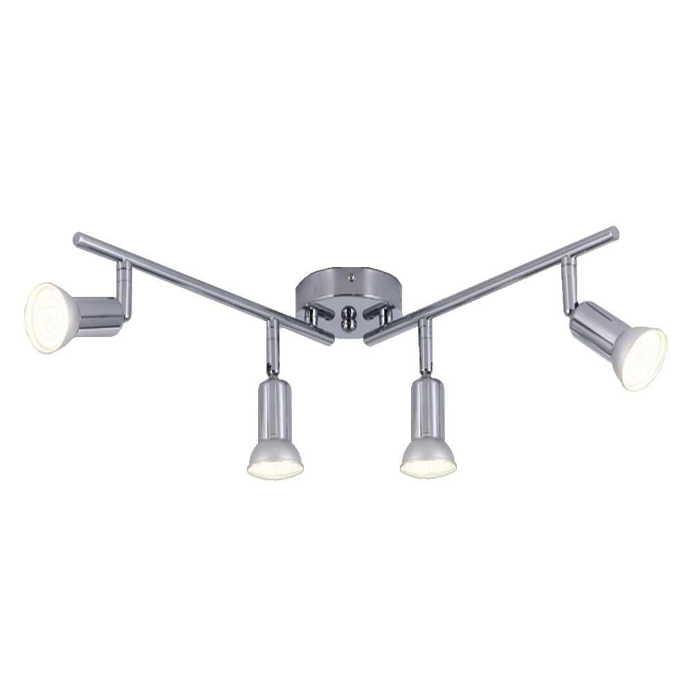 Modern LED Ceiling Chandelier Lighting Living Room Bedroom Chandeliers 4 heads rotatable Home Lighting Fixtures AC110V/220V