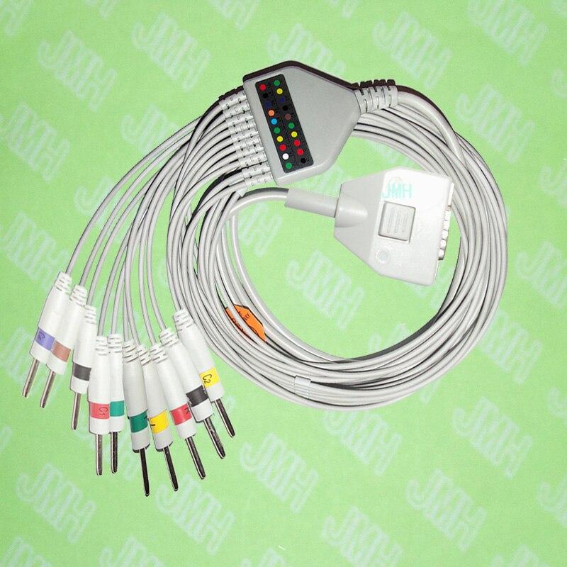 Kompatibel mit 15 pin Fukuda MICH KP-500 EKG patientenmonitor die ...