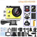 "Action camera H9 / H9R Ultra HD 4K / 25fps Remote WiFi 2.0"" LCD waterproof pro Helmet Cam underwater go Sport Action camera"