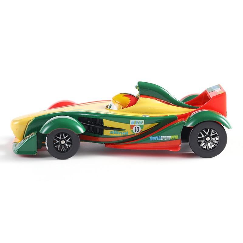 Автомобили Дисней Pixar 2 No.10 Rip Clutchgoneski, металлические Литые машины, 1:55, свободные, совершенно новые в наличии, Дисней Cars2 и Cars3