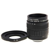 Fujian 35mm f1.7 cctv lente filme + c para montar nikon 1 S2 J4 J5 J3 J2 J1 V1 V2 V3 S1 AW1