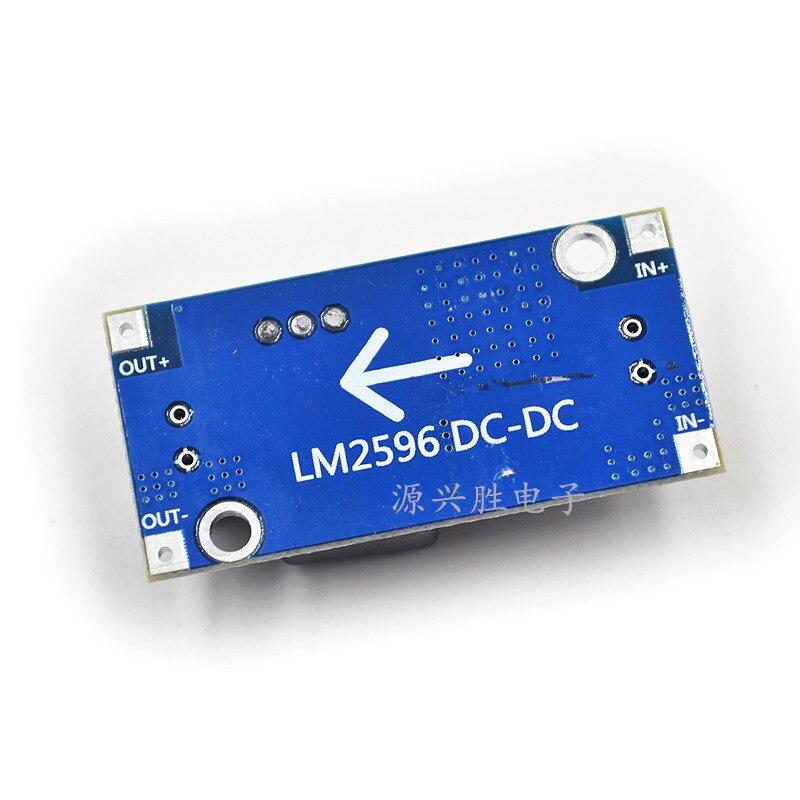 1pcs/lot DC - DC Step-down Module LM2596 Module 3A Adjustable Voltage Regulator 12 V To 5 V In Stock