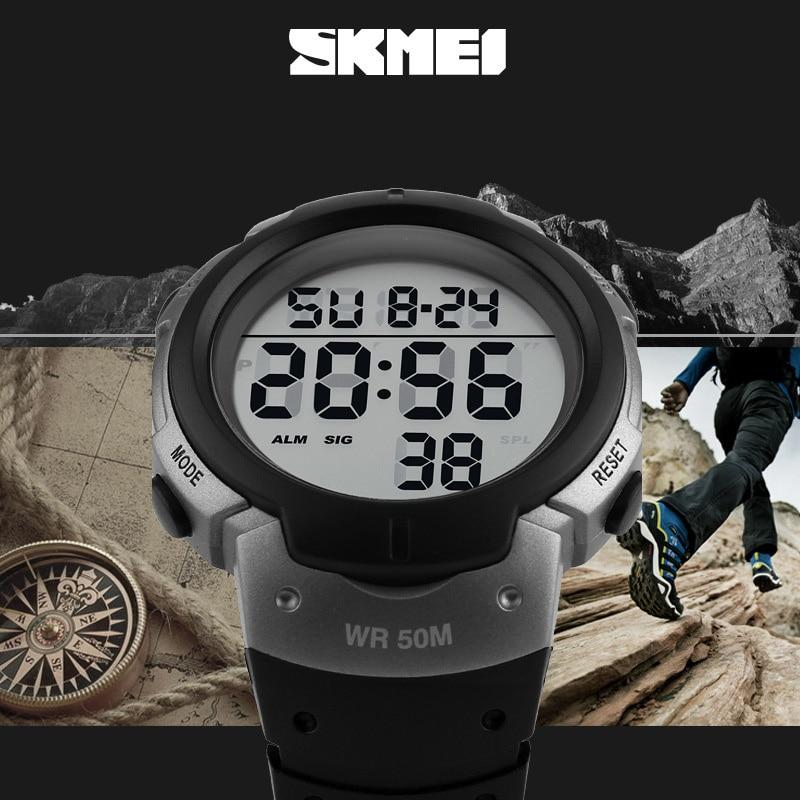 Herrenuhren Skmei Herren Sport Uhren Top-marke Luxus Dive Digitale Led Military Watch Männer Mode Lässig Elektronik Armbanduhren Uhr Männer Digitale Uhren