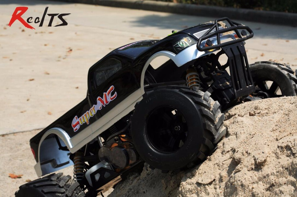 RealTS FS Racing 1/4 échelle 4X4 35CC gaz monstre camion télécommande voiture RC avec émetteur RTR livraison gratuite