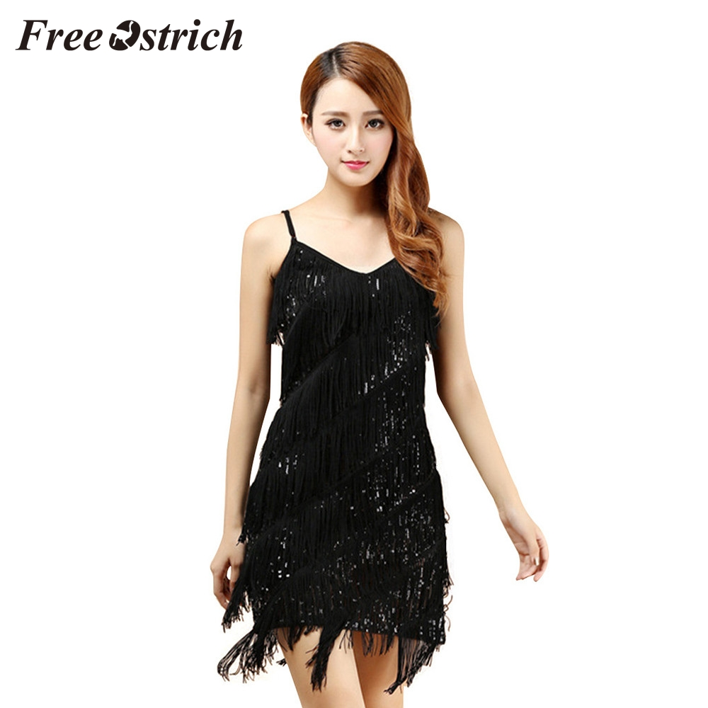 4c5db3984d top 10 largest gold sequin fringe dress brands and get free shipping ...