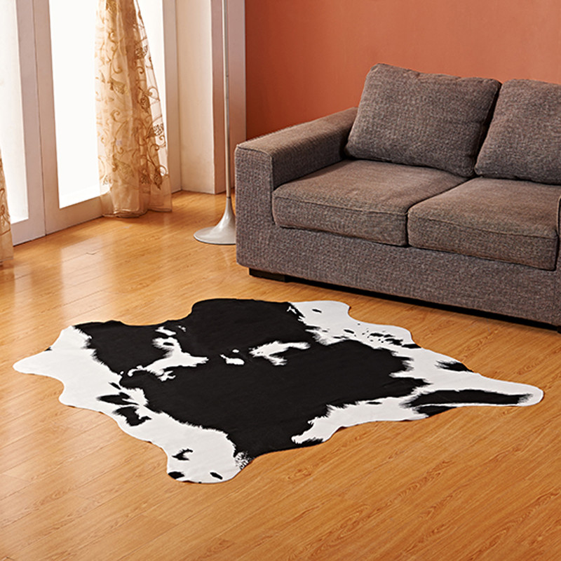 Hot Selling Fashion Factory Price COW ZEBRA CARPET AND RUG FOR LIVING ROOM CARPETS RUGS