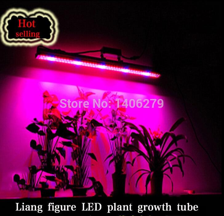 Toptan T8 LED bitki Büyümek Tüp 60 cm SMD 3528 led Bitki Büyümek Işık lamba kapalı sebze için tam spektrum