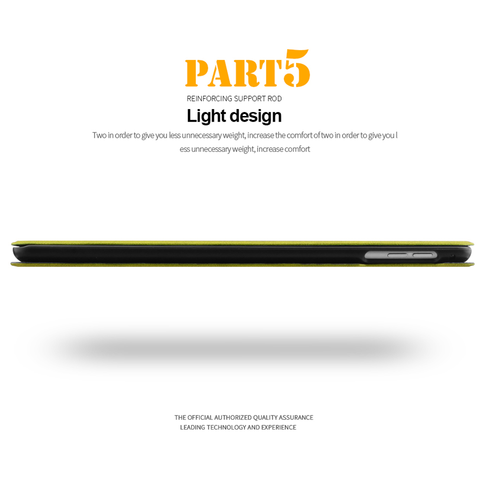 FLOVEME för Apple iPad Mini 1 2 3 4 Fodral Auto Sova / Wake Up Flip - Surfplatta tillbehör - Foto 6