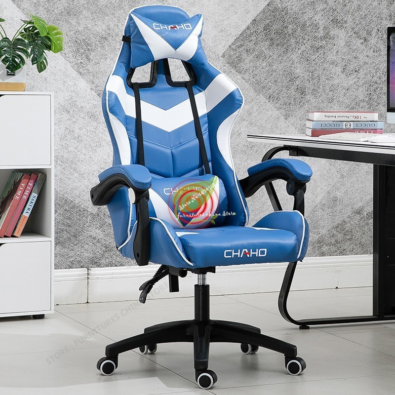 Игровой геймер стул офисный вращающийся стул офисная мебель стул Синтетическая кожа с поручнями коммерческая мебель руководителя