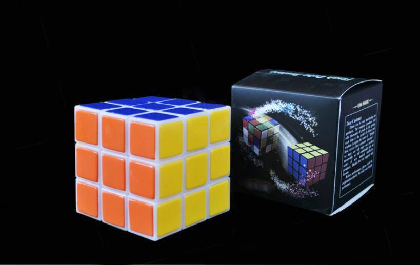 Restauração instantânea Cubo Cubo de Flash Restaurar Truques de Mágica Fase de Perto Da Rua Acessórios Do Partido Comédia Ilusões de Magia Cubo
