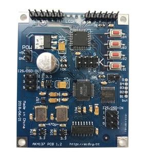 Image 3 - Lusya AK4137 Raspberry Pi IIS DAC Decoder Board Digital Network Player Support I2S 32bit 384K DSD256 G8 003