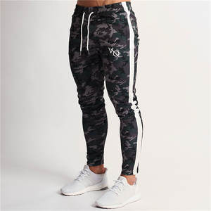 Men's clothing 2019 men's fitness camouflage pants fashion men's Sweatpants jogger casual trousers gyms bodybuilding pants