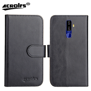 NUU Mobile G3 Case 6 Colors Dedicated Leather Exclusive 100% Special Crazy Horse Phone Cover Cases Card Wallet+Tracking(China)