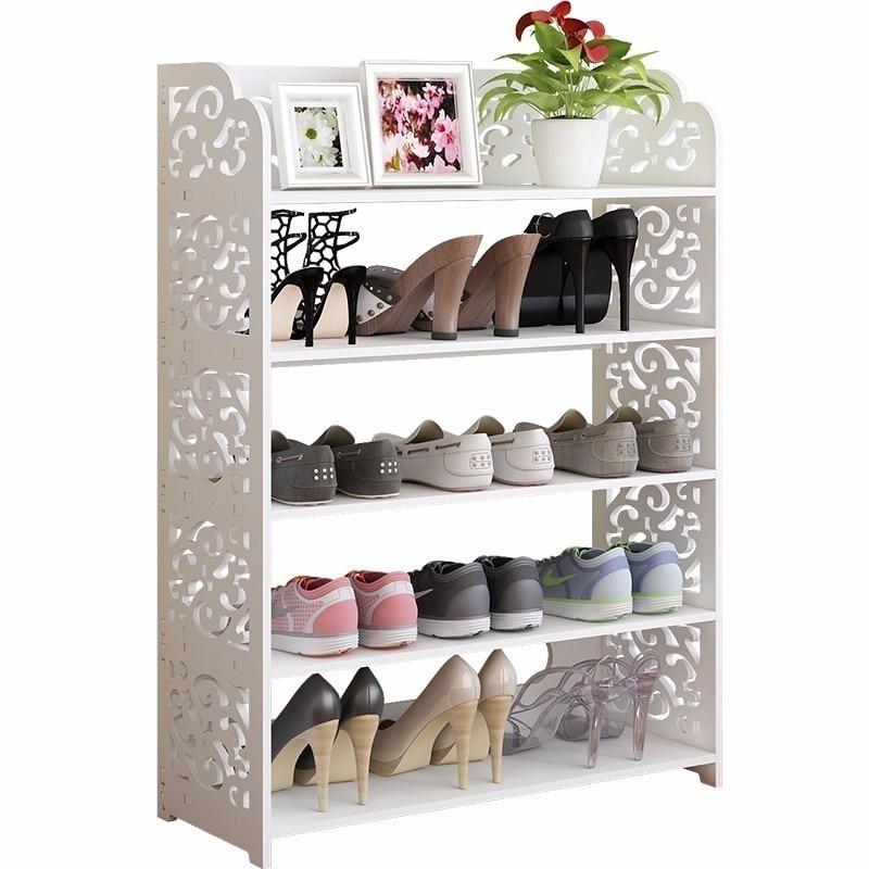 купить Rangement Sapateira Schoenen Opbergen Rack European Wooden Zapatero Organizador De Zapato Mueble Home Furniture Shoe Storage по цене 4853.57 рублей