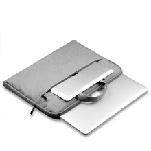 Canvas Laptop Briefcase Liner Sleeve 11 12 13 14 15 Case For Macbook AIR PRO Retina Notebook Bag for Dell/Lenovo/Asus/Xiaomi Air goojodoq laptop sleeve notebook bag pouch case for macbook air 11 13 12 14 15 13 3 15 4 15 6 for lenovo asus surface pro 3 pro 4