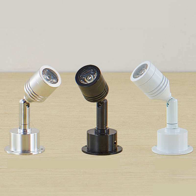 Led Downlight Spotlight 3w Dimmable Jewelry Light 110v 220v Showcase Lamp Straight Lamp Mini Cabinet Lights Include Driver