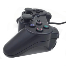 LNOP Wired Gamepad for PS2 controller Sony Playstation 2 joystick ps2 console Double Vibration Shock Joypad Pad wired game pad