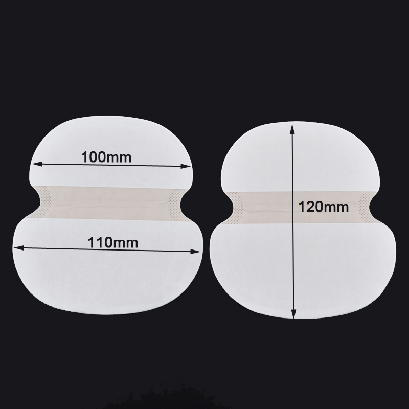 50Pcs/set Big Size Underarm Clothing Armpit Care Sweat Scent Perspiration Pad Shield Absorbing Deodorant Antiperspirant For Fat(China)