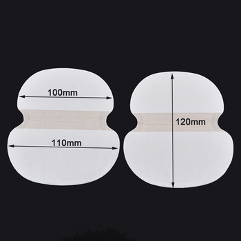 50Pcs/set Big Size Underarm Clothing Armpit care sweat scent perspiration Pad shield Absorbing deodorant Antiperspirant for fat 1