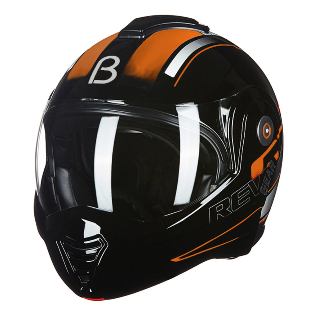 BEON 2018 Nouveau Flip up Moto Casque Modulaire Ouvert Casque Intégral Moto Casque Casco Capacete Casques ECE