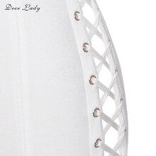 Cross Sexy Lace Up Bandage Dress