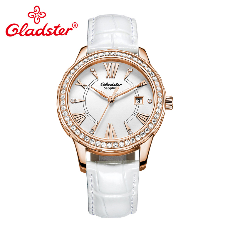 Gladster Fashion Quartz Women Japanese Miyota Movement Crystal WatchGladster Fashion Quartz Women Japanese Miyota Movement Crystal Watch