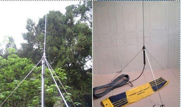 Акция! 10 шт./лот 1/4 волны GP Антенна для 5 Вт, 7 Вт, 15 Вт, 30 Вт, 50 Вт, 100 Вт Fm-передатчик BNC с 8 meters 26ft. кабель бесплатная доставка