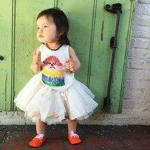 Юбка для девочек розовая летняя одежда фатиновая юбка-пачка, бальное платье, розовые, белые, фиолетовые вечерние юбки принцессы для танцев, детские юбки для девочек мини-юбка