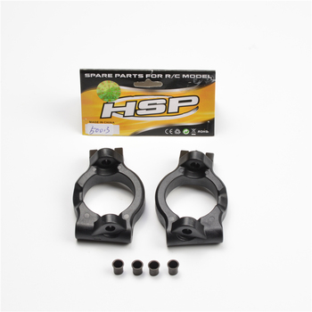 HSP RACING RC CAR SPARE PARTS 50013 50014 STEERING MOUNT AND 50059 REAR HUB CARRIER FOR HSP 1/5 BUGGY 94051 AND TRUCK 94050 hsp racing rc car spare parts accessories 050009 steel universal drive joint of 1 5 gas truck 94050 skeleton and baja 94054 4wd