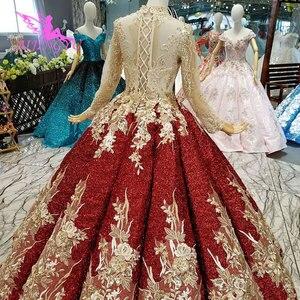 Image 2 - AIJINGYU turcji suknia ślubna na sprzedaż anioł ogród unikalne nowy Tulle sukienki tanie wesela suknie