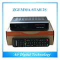 2pcs/lot Full Channels Official Software Supported Zgemma-Star 2S FTA Satellite Receiver With DVB-S2+S2 PVR Twin Tuners IPTV Box