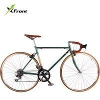 Оригинальный X Front бренд 700CC Ретро Классический 28 дюймов 14 скорость Дорожный велосипед городской нежный велосипед Открытый Дата bicicleta