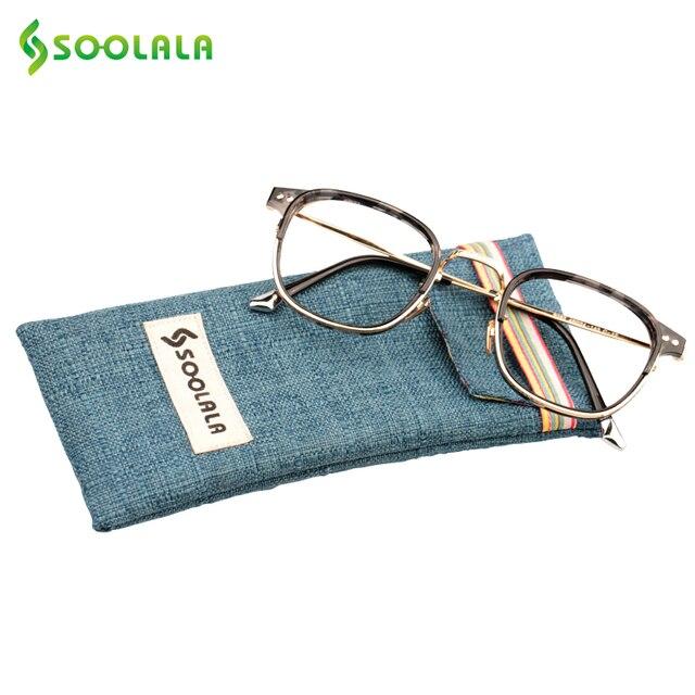 a2823beb01bd SOOLALA Womens Mens Semi-rimless Reading Glasses Vintage Big Frame Reading  Glasses +0.5 1.0 1.5 2.5 to 4.0 4.5 5.0
