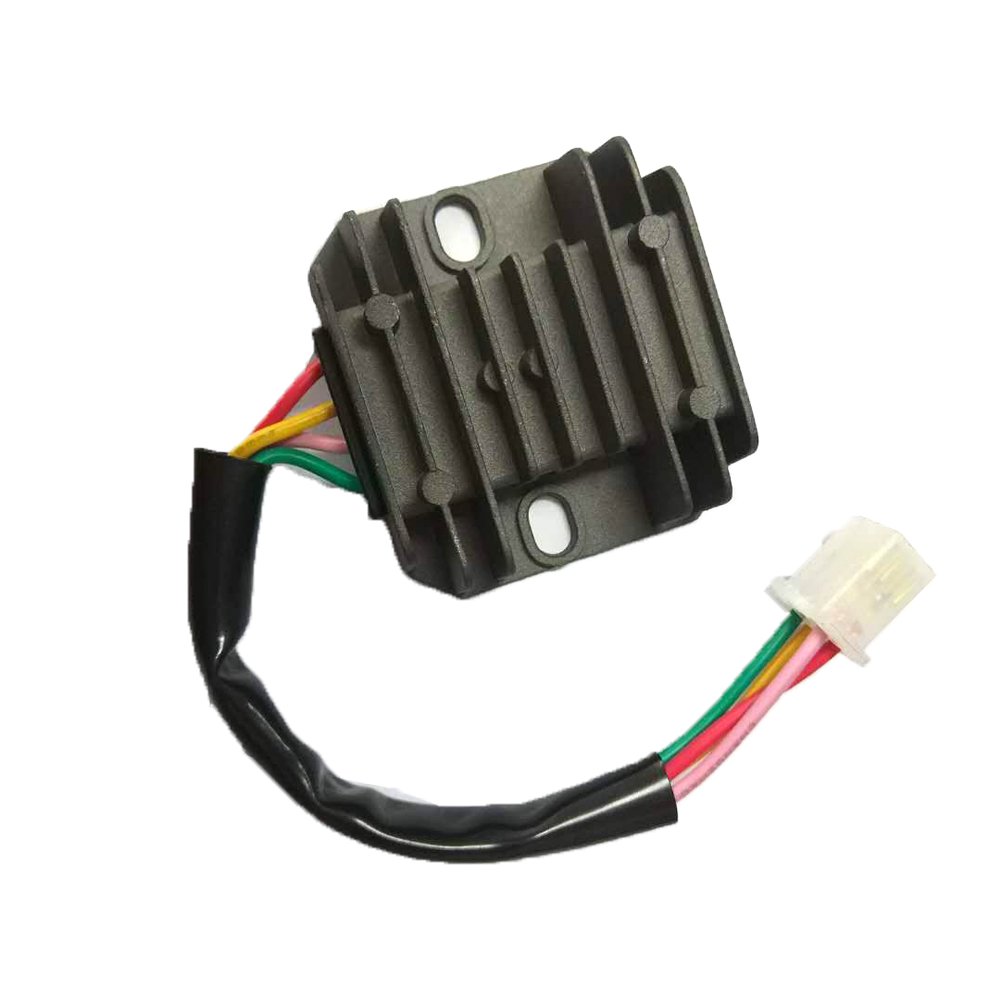 medium resolution of 4 wires voltage regulator rectifier for motorcycle boat motor mercury atv gy6 50 150cc scooter moped jcl nst taotao knight in motorbike ingition from