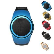 Mini Smart Hand Speaker Watch B20 Music Sport Bluetooth Speaker Self-timer Anti-Lost Alarm Support TF Card FM Radio Portable